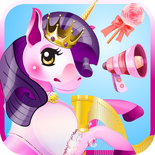 MY CUTE LITTLE MAGIC PRINCESS PONY UNICORN - Advert Free Dress Up GAME
