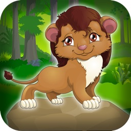 A+ Lion Cross The Jungle Animal Games For Kids Retro Arcade Game FREE