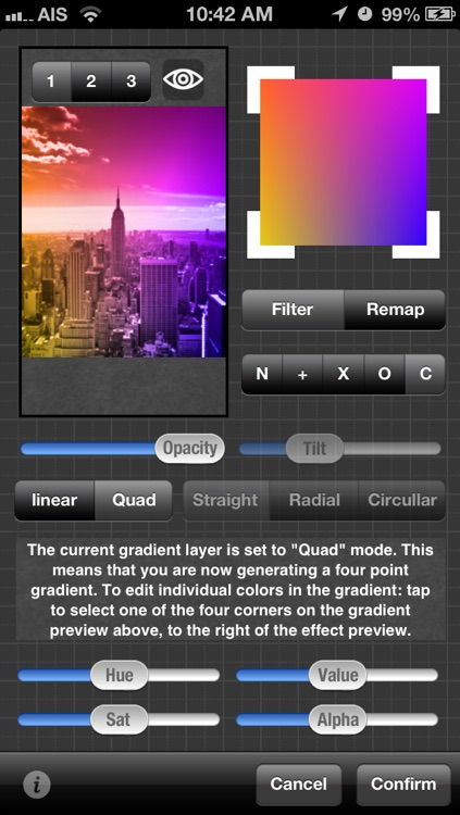 Gradients screenshot-3