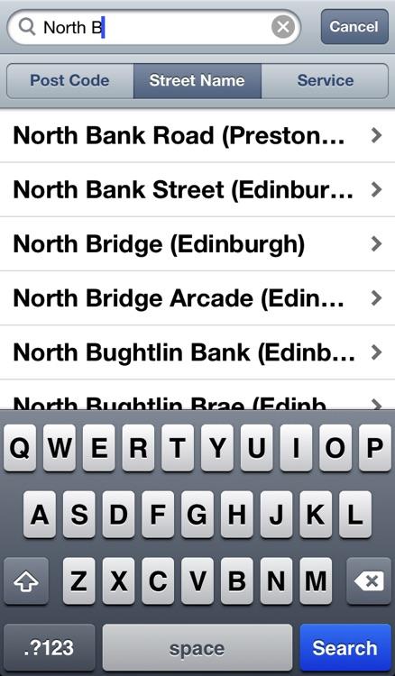 Buses Edinburgh screenshot-4