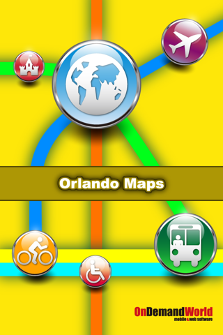Orlando Maps - Download City Maps and Tourist Guides. screenshot 1