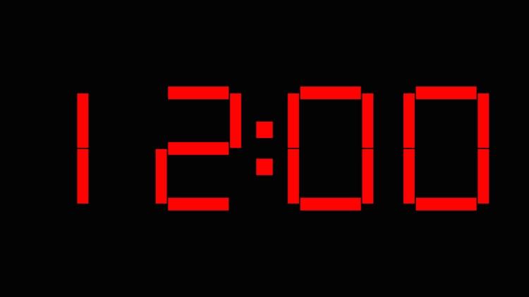 Big Red Clock