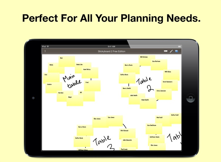 Stickyboard 2 Free Edition: Sticky Notes on a Whiteboard to Brainstorm, Mindmap, Plan, and Organize screenshot-3
