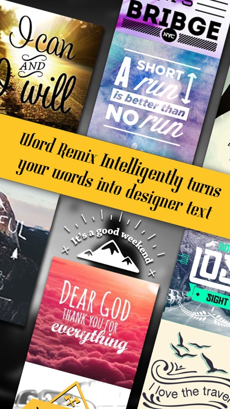 Word Remix Cool Fonts Typography Generator Creative Quotes And Text Over Pic Editor Online Game Hack And Cheat Gehack Com