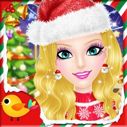 Christmas Salon 2 - Girls Makeup, Dressup and Makeover Games