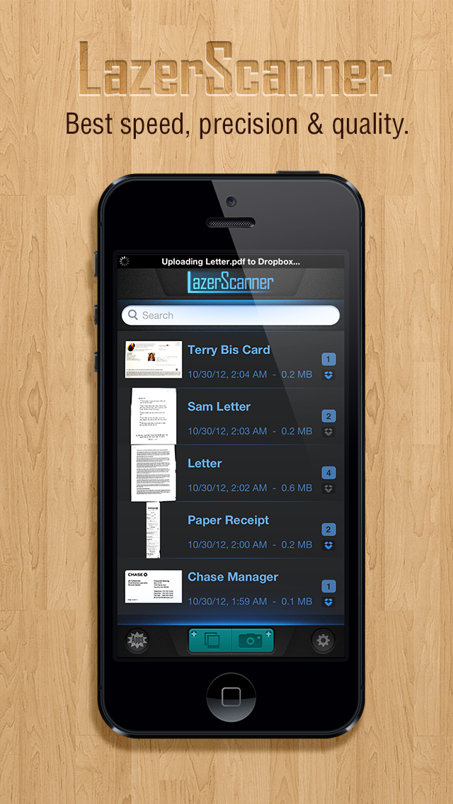 LazerScanner - Scan multiple doc to pdf and auto upload to