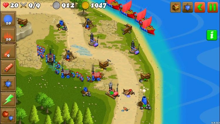 Islands Defense TD screenshot-0