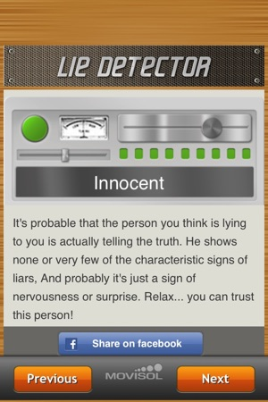 Lie Detector - Is your partner cheating you? on the App Store