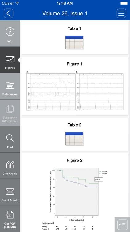 Journal of Cardiovascular Electrophysiology screenshot-4