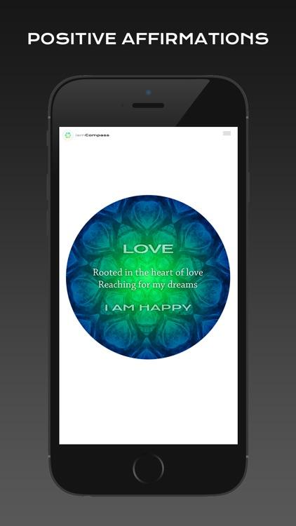 iamCompass : Chakra iChing Intuitive Healing Affirmations screenshot-4