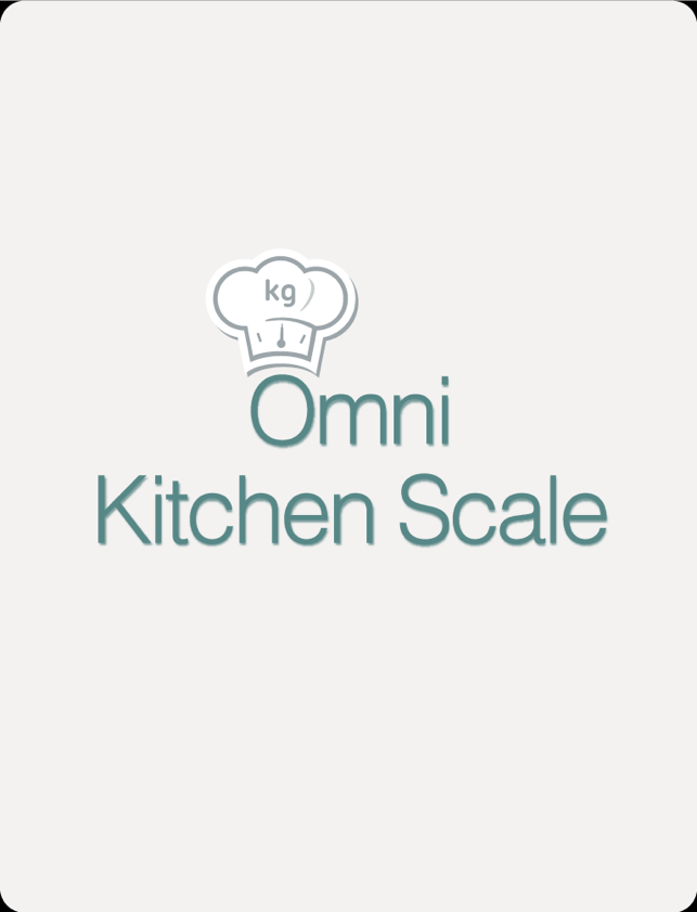 App store omni kitchen scale for Kitchen scale with app