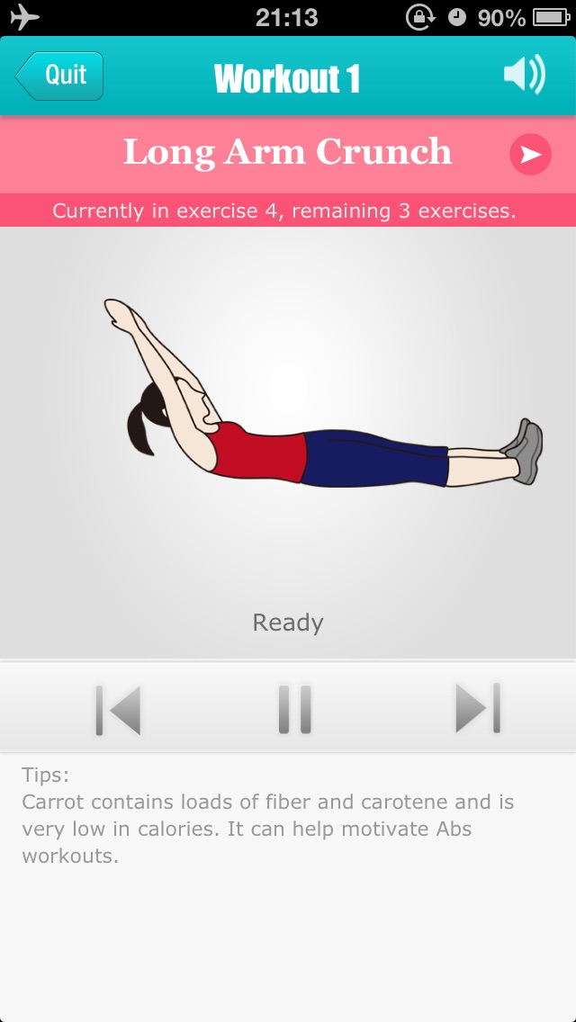 Abs Workouts - Getting A Perfect Belly in 12 Days-3