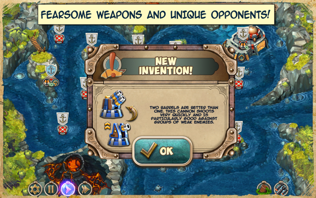 ‎Iron Sea Defenders TD Screenshot