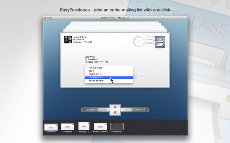 EasyEnvelopes Screenshot