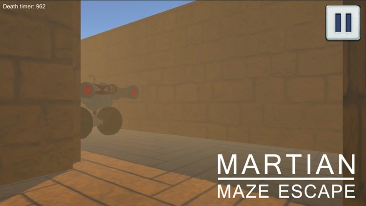 Martian Maze Escape screenshot-3