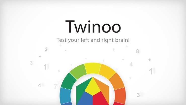 Twinoo Brain Training - Test Your Left and Right Brain!
