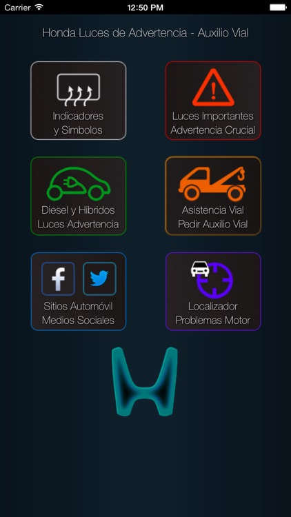 Honda Luces Advertencia y Honda Problemas con Asistencia vial screenshot-0