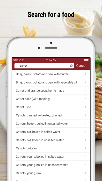 iFood Lite: Calorie Counter