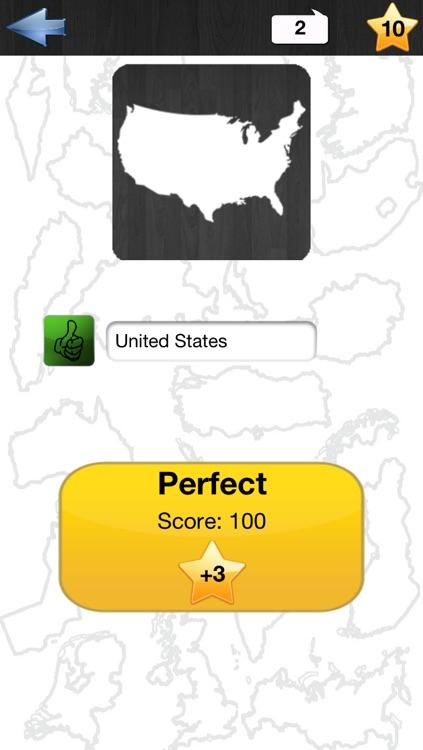 Country Conturs Quiz