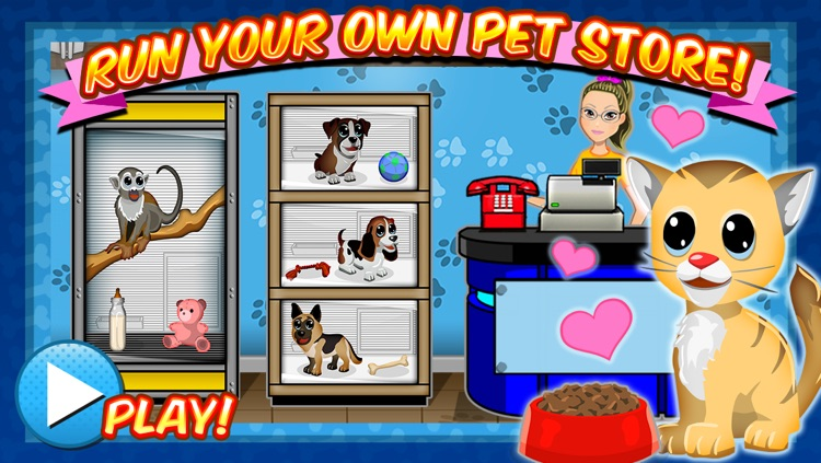 Sunnyville Pets Shop Game – Play Fun Free Pet Store Kids Games screenshot-0