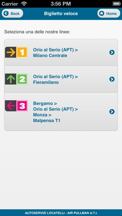 Orio Shuttle Mobile screenshot-1