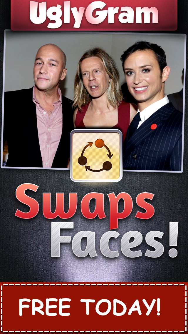 UglyGram Face Split Clone Swap - Juggle or Bomb a Photo Pic of Yourself screenshot three