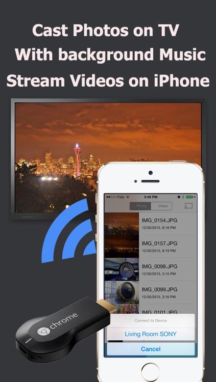 CastOnTV Free  - Music Slideshow for Chromecast