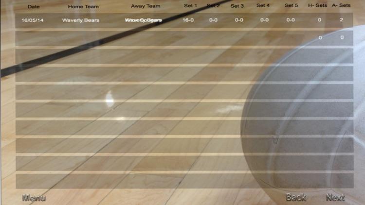 ScoreKeeper VolleyBall for iPhone screenshot-3