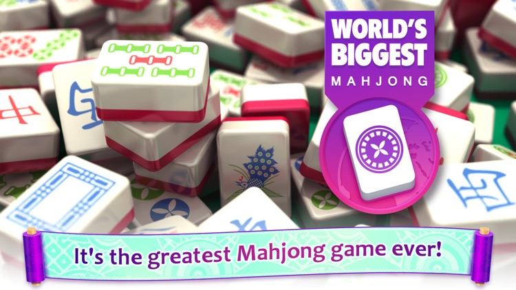 Mahjong : World's Biggest Mahjongg Solitaire screenshot-0