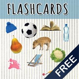 English audio flashcards