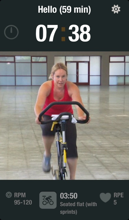 iRideInside - Cycle your way into shape with your own personal coach