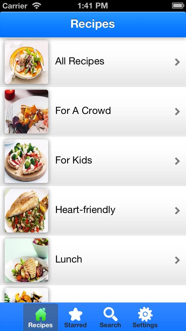 Diabetes Friendly Recipes review screenshots