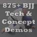 95.875+ BJJ Technique Demos