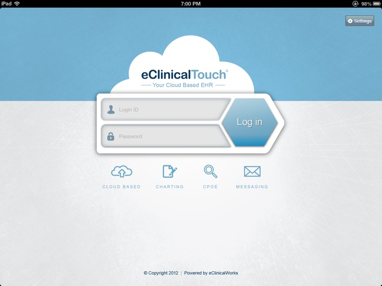 eClinicalTouch screenshot-0