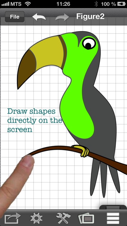 Draw a One touch