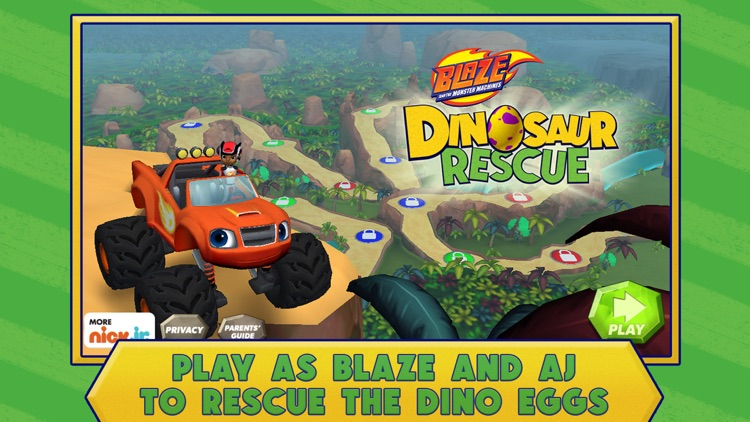 Blaze: Dinosaur Rescue screenshot-0