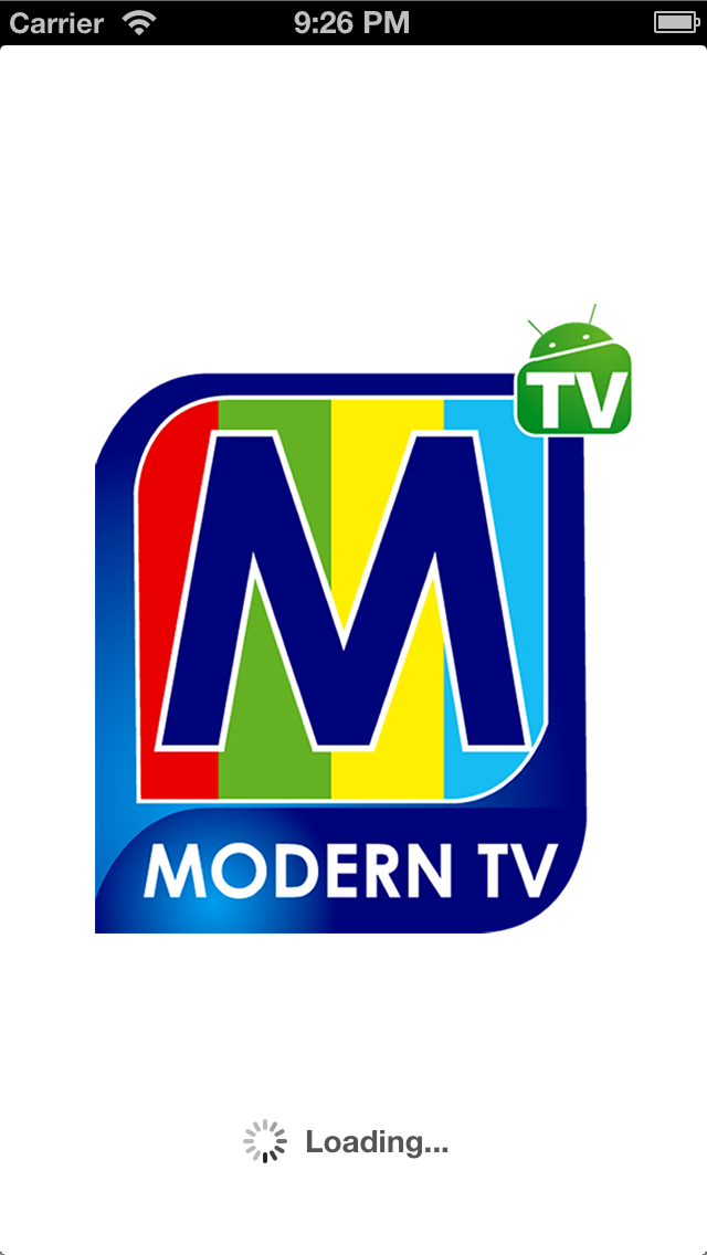 Modern TV screenshot one