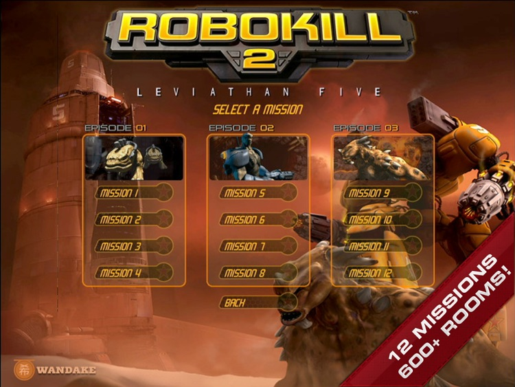 Robokill 2: Leviathan Five screenshot-3