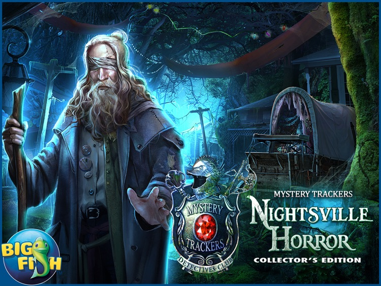 Mystery Trackers: Nightsville Horror HD - A Hidden Object Adventure (Full) screenshot-4