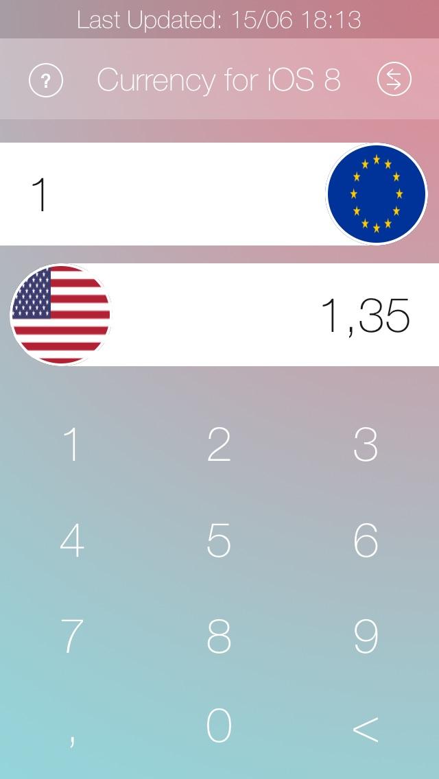 通貨のコンバーター iOS 8 | 日本人のスクリーンショット1