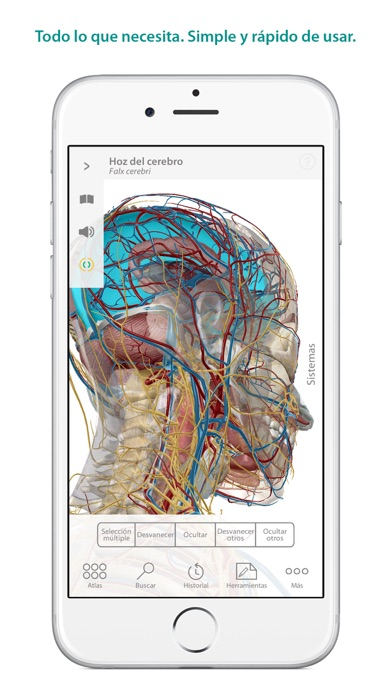 Screenshot for Atlas de anatomía humana in Peru App Store