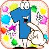 1-10 号写: 为孩子们的教育游戏