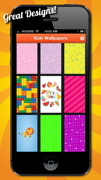 Kids Wallpapers, Backgrounds and Colorful Themes for Children and Moms! screenshot-3