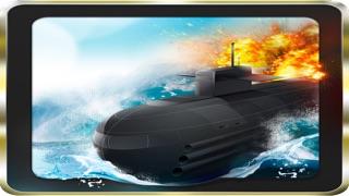 素晴らしい潜水艦戦闘艦 -無料で楽しい魚雷戦争ゲームです-のスクリーンショット1