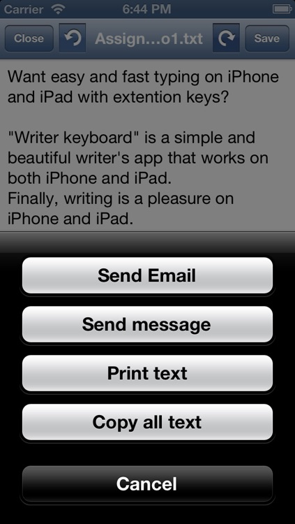 Writer app: Easy text editor for writers screenshot-3