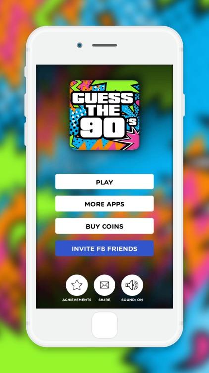 Guess The 90's! screenshot-3