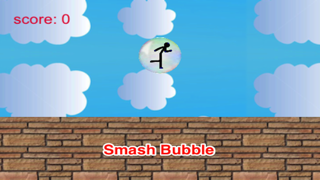 Amazing Bubble And Star: Stickman Runner Free screenshot two