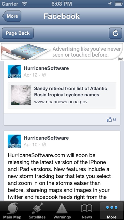 Hurricane Tracker By HurricaneSoftware.com's - iHurricane Free screenshot-4