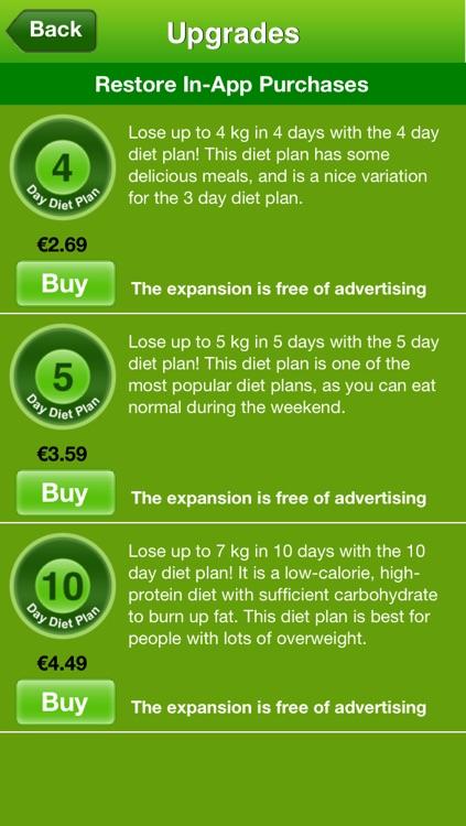 Easy Diet App screenshot-4