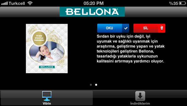 Bellona Mobil Katalog Screenshot